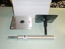 "SWIVL-EZE SEAT PEDESTAL LOCK N PIN 148 97739 11"" POST 7""X7"" STAINLESS BASE"