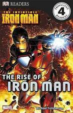 The Invincible Iron Man the Rise of Iron Man (DK Readers Level 4),VERYGOOD Book