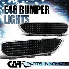 BMW 1999-2006 E46 3-SERIES/M3 COUPE BLACK BUMPER REFLECTOR LIGHTS