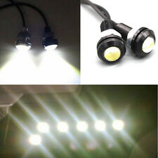 10W 12V LED Round Car Daytime Running Light DRL Head Lamp Eagle Eye White Light