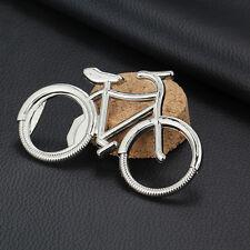 1x Bicycle Metal Beer Bottle Opener Bike Keychain Key Rings Wedding Party Gifts`