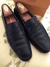 Tod's Men's Loafers Size 8 Black