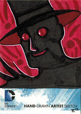 DC Comics New 52 Sketch Card by Rich Molinelli