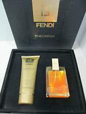 "CONF. PROFUMO EDP 100ml SPRAY +IDRATANTE 200ml ""THEOREMA DI FENDI"" VINTAGE"