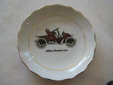 "VINTAGE AUTOCAR RUNABOUT 1902 CAR JAPAN SMALL DISH, 3 5/8"" DIA X 1/2"" HIGH"