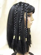 Adult Cleopatra Costume Wig Egyptian Queen of Nile Ancient Mummy Princess Egypt