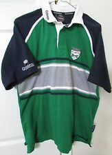 Guinness Rugby Shirt Short Sleeve Large 100% Cotton Licensed Shirt