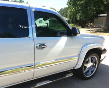 2003-2006 Chevy Silverado/Sierra Crew Cab 4Pc Body Side Molding Overlay 3 1/2""