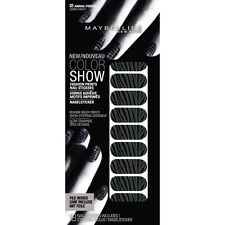 3 X Maybelline Color Show Nail Stickers 01 Zebra Night