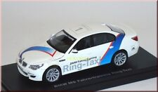 "Bmw m5 e60 conductor-training #1 ""conductor entrenamiento-ring taxi"" Kyosho 03503rt 1:43"
