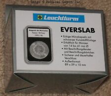 15 Lighthouse Everslab 23mm Graded Coin Slabs One Euro Size Holders