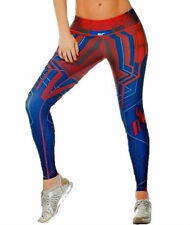BF Colombian Legging Sport Gear Athletic Apparel Spiderman Gym Pant super heroes