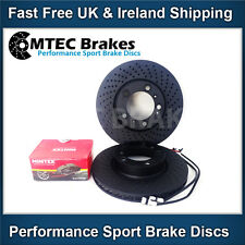 Boxster 3.2S S 986 987 Front Black Edition Brake Discs & Pads & Sensor Leads