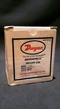 Dwyer Magnehhelic 0-10 1N Differential Pressure Gauge 2010-ASF