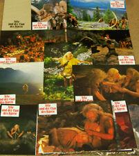 Ayla und der Clan der Bären 16 Aushangbilder original Verleihumschlag D.Hannah