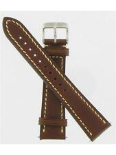 Swiss Army Brand 20mm Brown Leather Infantry Vintage Series Watch Band 003720