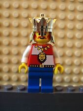 Lego Minifig ~ Vintage Royal Knights King ~ Lion Head Crest Leo Castle #adrt