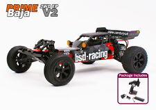 Radio Remote Control RC Auto 1 / 10th ELECTRIC BUGGY PRONTO A CORRERE BAJA primo 2.4 GHz