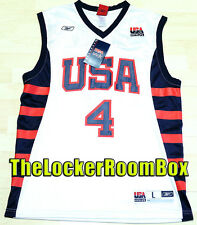 NWT NEU Dream Team USA Allen Iverson Gr L SZ 44 NBA Trikot Basketball Jersey
