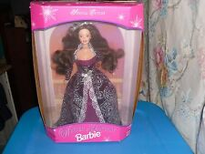 1996 NRFB Special Edition Winter Fantasy Barbie Brunette Hair