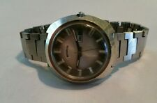 Benrus 17 Jewels Vintage Wind Up Men's  Wrist Watch RUNS