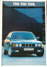 Prospekt BMW 7er E32 730i - 735i - 735iL - 2/86 -  48 Seiten!
