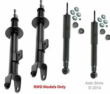 4 New Struts Shocks Full Set Lifetime Warranty Fit 300 Charger Magnum RWD Only