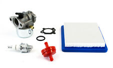 Carburetor & Tune Up Kit Fits Briggs Models 120 121 122 12E 12T Primer Style