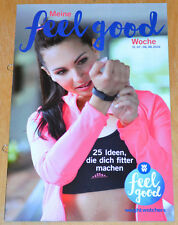 Weight Watchers Meine Feel Good Woche 31.7-6.8 SmartPoints 2016 Wochenbroschüre