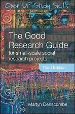 The Good Research Guide by Denscombe,Martyn