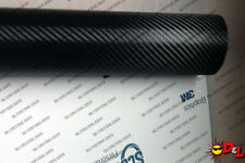 "3M Scotchprint 1080 Black Carbon Fiber Wrap Film VINYL 15""x48"" 5 sq. ft. CF12"