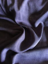 W-922222  Italian Made 100% Virgin Wool Silk Fabric By The Yard