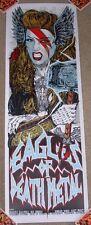 EAGLES OF DEATH METAL concert poster print MELBOURNE 2-28-14 2014 Rhys Cooper