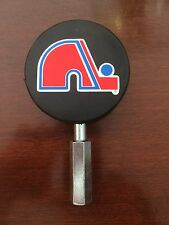 Quebec Nordiques NHL Beer Tap Handle Puck Hockey Kegerator Bar Stanley Cup
