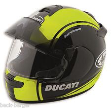 Ducati Arai Chaser V hv-1 pro casco Helmet negro amarillo flúor Matt nuevo 2016!!!