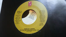 Shirley Jones 45 Do You Get Enough Love/We Can Work It Out 80s Funk Soul