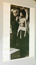 Auguste Rodin and his model Vintage Poster Pin-Up Berkeley Bonaparte sculpture