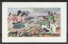 Staffa (Great Britain - Scotland Local) The Highlanders Battle of Alma S/S MNH