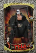 "TNA COLLECTORS EDITION STING 12"" INCH DELUXE FIGURE 41 POA AUTHENTIC WWE WWF WCW"
