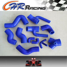 Silicone Induction Intake Hose for Audi S4 RS4 Biturbo A6 B5 2.7L Bi-Turbo blue