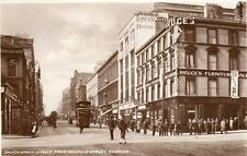 Sauciehall Street  Bruce's Furniture Shop Glasgow unused RP pc Caledonia  A345