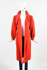 VINTAGE Valentino Miss V Red Shawl Collar Bishop Sleeve Coat SZ M