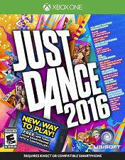 New Just Dance 2016 (Microsoft Xbox One, 2015) Dance with Family Free Shipping