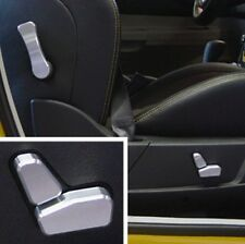 Chrysler 300c 4pc Power seat button billet aluminium knob cover set