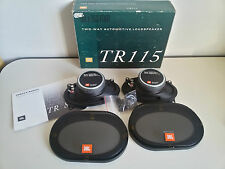 NEW Rare Vintage JBL TR115 2-Way SPEAKERS 60W Altoparlanti CAR AUTO Tuning