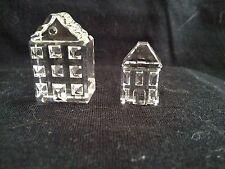 SWAROVSKI Crystal. CASE I E II  (CITY HOUSES)  Fuori Produzione . RARO