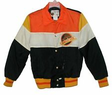 Sz M Vin 70's-80's CANUCKS Quilt Lined Jacket NHL SHAIN OF CANADA Professional