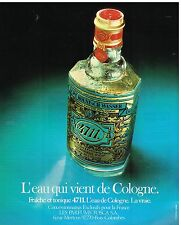 Publicité Advertising 1976 Eau de Cologne N°4711