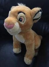 "14"" Sitting SIMBA~Disney~Lion King~Wild Cat~Plush~Stuffed~Soft~Cuddly~Animal Toy"