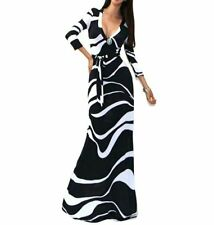Women's Summer Casual Boho Long Maxi Beach Dress Evening Party Cocktail Dresses